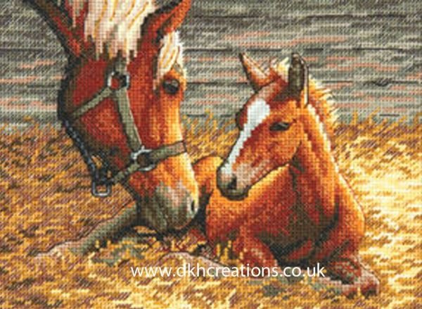 Good Morning Horse Cross Stitch Kit